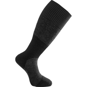 Woolpower Skilled 400 Knee High Socks, szary/czarny